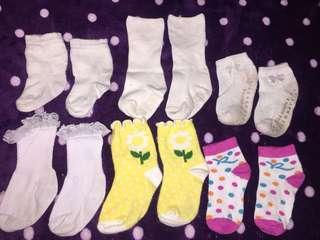 Baby Sock set of 6 pairs