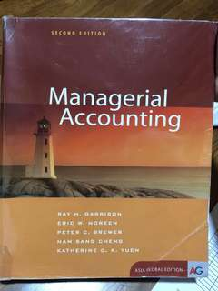 Managerial Accounting second edition