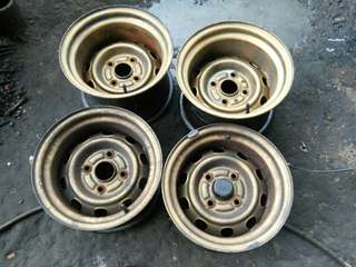 customs steelish rim 13inc