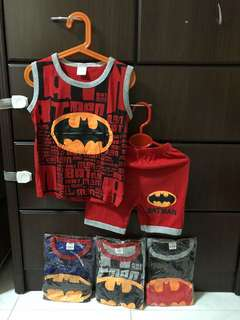 Brand new bat man sleeveless set