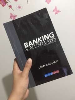 Banking and Allied Laws (For Commercial Law Review)