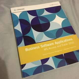 NYP BSA Business Software Applications Book