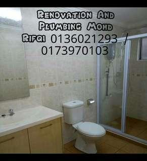 Renovation and plumbing Mohd rifqi 0136021293 area Bandar Baru bangi