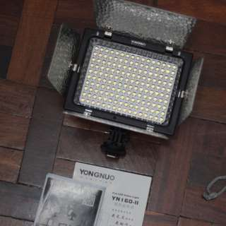 Yongnuo YN 160 II Pro LED Video Light