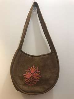 Authentic cow hide bag from india