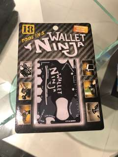 🚚 Wallet Ninja -18 tools in 1 多功能工具卡