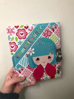 Kimmidoll junior lockup journal
