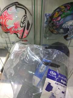 {SOLD} SEMI-SMOKE Arai Visor BNIP