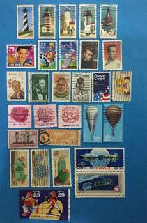 USA 30 Different Commemoratives  Used Selection C