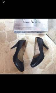 Nine west heels black 38
