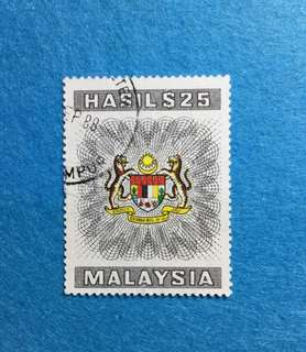 1975-1983 Hasil / Revenue $25 Stamp