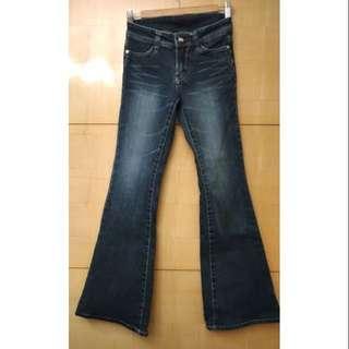 🚚 Wrangler藍哥牛仔褲(伸縮/小喇叭/25號/純棉)