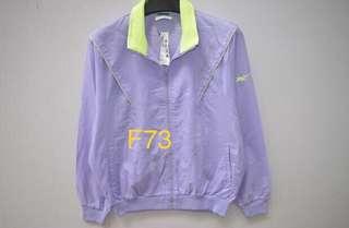 「古著」少女粉紫 運動外套
