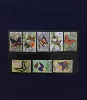 1970 National Butterflies Series 🦋8 Values Complete