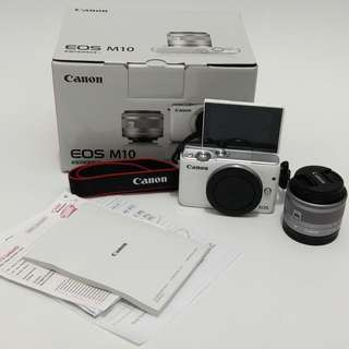 Canon Eos M10 Kit (Masih Garansi)