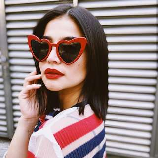 Vintage Retro Heart Sunnies