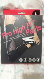 V.VIENNA黑色薇薇安娜280D高強度顯瘦壓力褲