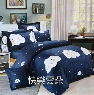 🚚 雙人床包組 天絲絨床包組 床包組