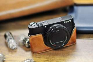 Kaza genuine leather case for Sony RX100 cameras