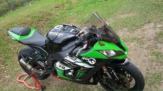Zx10R 2011 🇲🇾 Status JT: Condition Very Good . Comes w Full Sysfem Exhaust