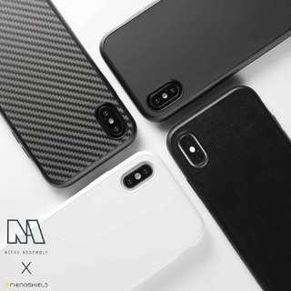 Rhinoshield Solidsuit phone case for iPhone & Samsung S9/S9+