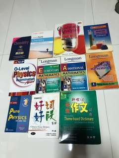 Cheap Reference guide books to improve your grades O level