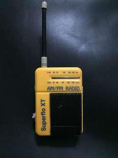 Vintage Pocket Clip Radio