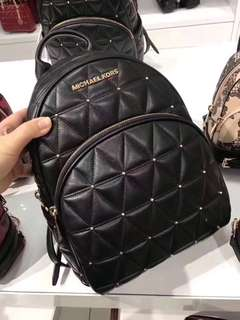 Micheal Kors Quilted Bagpack