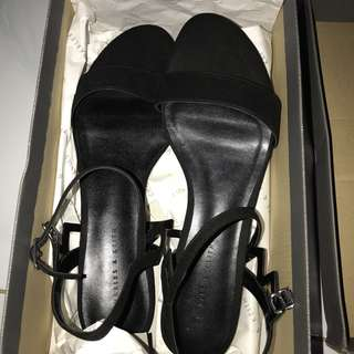 CHARLESKEITH FLATS CALOUR BLACK SIZE 40