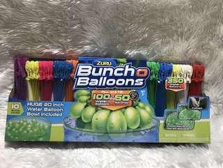 Buncho balloons (water balloons)