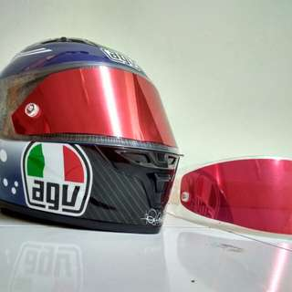 Tear off + tear off post AGV SHOEI KYT