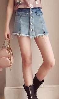 牛仔褲裙全新
