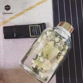 Spawater高硼矽特製玻璃水瓶
