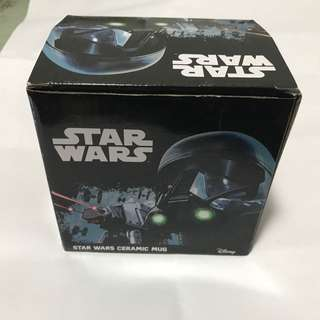 Star Wars Jedi Therman Mug with Cover and Stirrer