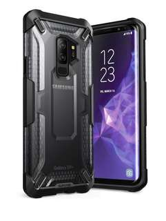 (Ready)Supcase UB Clear Case for s9 plus- Black/Blue/Red