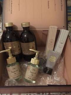 🔥🔥 SABON Set - Shower Gel, Body Lotion, Hand Cream