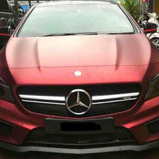 Mercedes Benz CLA45  (A) 4 MATIC AMG Sambung Bayar / Car Continue Loan