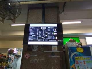 Digital menu for businesses