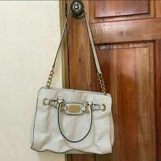Michael kors mk white bag