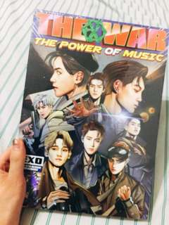 EXO The War: The Power of Music (Repackage)