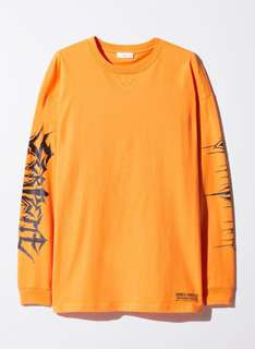 TNA serpent orange t shirt