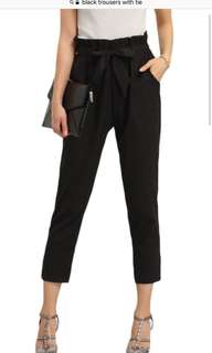 Zara Black Trousers