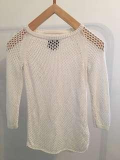 Aritzia - Wilfred free mesh sweater
