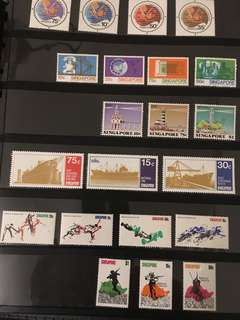 Singapore Mint stamps