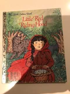 Little Red Riding Hood - Little Golden Book