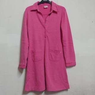 Thick pink dress