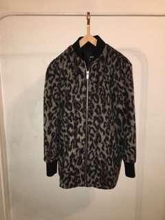 Aritzia -Wilfred free leopard jacket xs