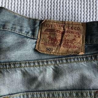 LEVIS 501 shorts