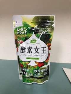 🚚 自然革命-酵素女王(蔬果風味)全新