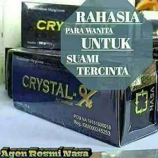 Natural Crystal X solusi problem kewanitaan anda